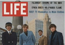 1968: As Australia's leading content company, with an almost mystical reputation for hero-making and heroic performances, we sometimes can't help but become the story. Other media are transfixed. Here, key staff pose for 'Life' magazine (company founder Lance Melrose is second from the left).